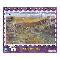 USPS Nature America Arctic Tundra Stamp Collection 500-piece Puzzle