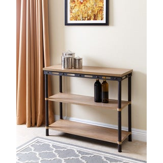 ABBYSON LIVING Northwood Industrial 3-tier Table