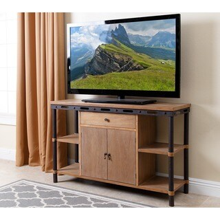 Abbyson Northwood Industrial Rustic TV Stand