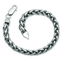 Versil Stainless Steel Polished 8.5-inch Bracelet