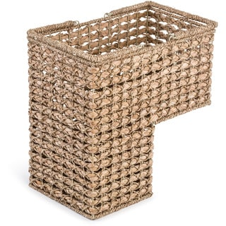 Braided Rope Storage Stair Basket With Handles by Trademark Innovations