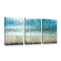 ArtWall Norman Wyatt JR's 'Winter Coast'  3-Piece Gallery Wrapped Canvas Set