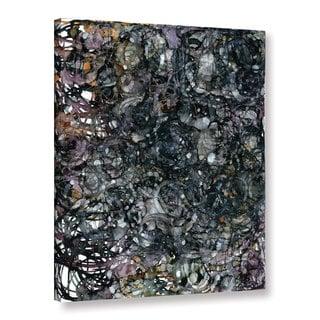 ArtWall Norman Wyatt JR's ' Tiger Eyes' Gallery Wrapped Canvas