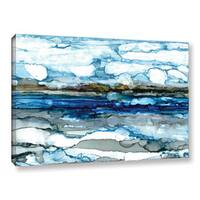 ArtWall Norman Wyatt JR's 'Silver Coast' Gallery Wrapped Canvas
