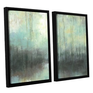 ArtWall Norman Wyatt JR's 'Overcast'  2-Piece Floater Framed Canvas Set