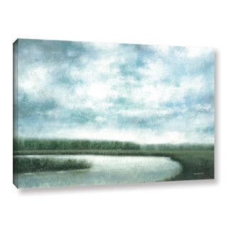ArtWall Norman Wyatt JR's 'Cloudy Day Marsh' Gallery Wrapped Canvas