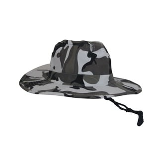 Bughat Trailblazer Mosquito Net Urban Camo Unisex Sun and Bug Protection Hat