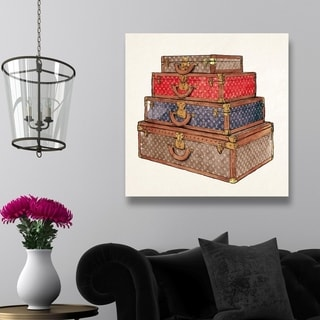 Oliver Gal 'The Royal Luggage' Canvas Art