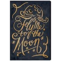 Oliver Gal 'To The Moon'  Canvas Art