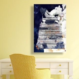 Oliver Gal 'Deep Blue Thoughts'  Canvas Art