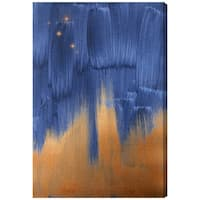 Oliver Gal 'Starry Night in Copper'  Canvas Art