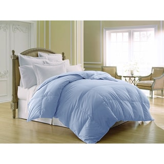 Luxlen Dobby Stripe Colored 400 Thread Count Down Comforter