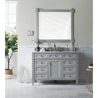 Urban Grey Brittany 48inch Single Vanity Cabinet
