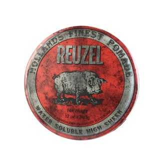 Shop Reuzel Red Pomade Water Soluble 4 Oz Overstock