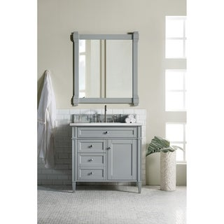 Urban Grey Brittany 36 Inch Single Vanity Cabinet