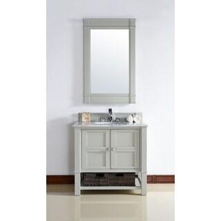 Dove Grey Madison 36-inch Single Vanity Cabinet