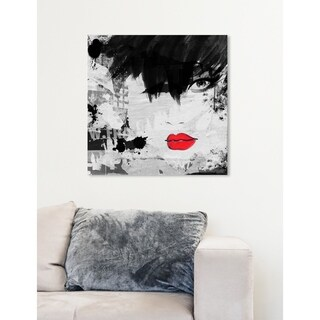 Oliver Gal 'She's a Hurricane' Canvas Art