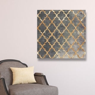 Oliver Gal 'Arabesque Gold'  Canvas Art