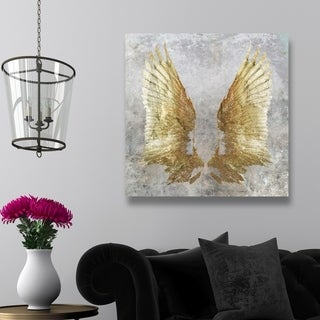 Oliver Gal 'My Golden Wings'  Canvas Art
