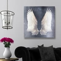 Oliver Gal 'Unlimited Forever'  Canvas Art - gray