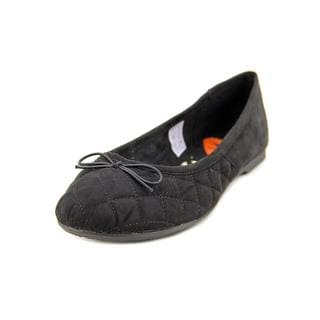 Rocket Dog Women's 'Trinidad' Black Textile Casual Shoes