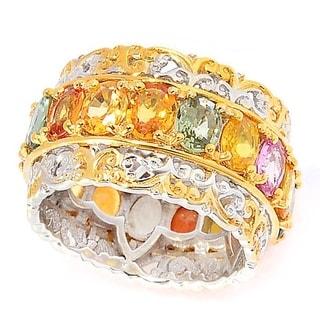 Michael Valitutti Multi Sapphire Eternity Ring