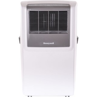 Honeywell White/ Grey MP10CESWW 10,000 BTU Portable Air Conditioner with Front Grille and Remote Control - White - 10,000 BTU