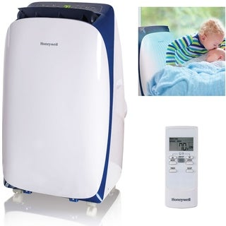 Honeywell White/ Blue HL10CESWB HL Series 10,000 BTU Portable Air Conditioner with Remote Control