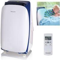 Honeywell White/ Blue HL10CESWB HL Series 10,000 BTU Portable Air Conditioner with Remote Control - White
