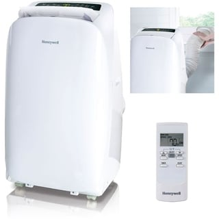 Honeywell White/ White HL12CESWW HL Series 12,000 BTU Portable Air Conditioner with Remote Control