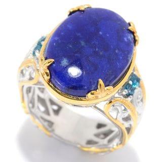 Michael Valitutti Lapis Lazuli Ring