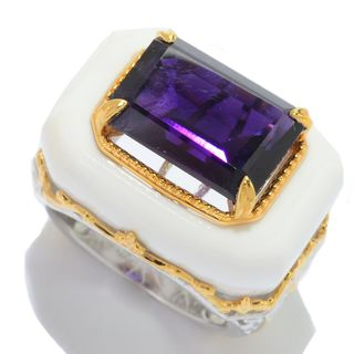 Michael Valitutti African Amethyst and White Onyx
