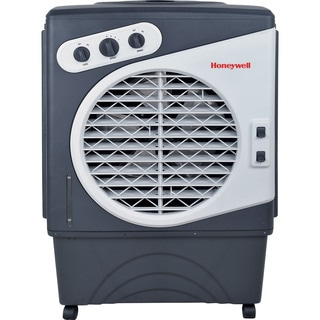 Honeywell Grey/ White CO60PM 125 Pt. Indoor/Outdoor Evaporative Air Cooler - Grey/White