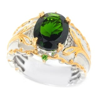 Michael Valitutti Chrome Diopside Ring