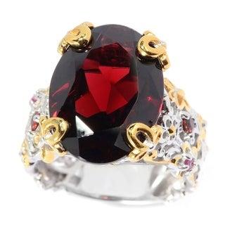 Michael Valitutti Mozambique Garnet Ring