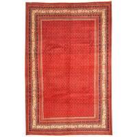 Handmade Herat Oriental Persian Tribal Mir Wool Rug (Iran) - 6'9 x 10'5