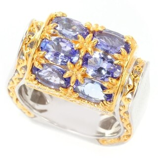 Michael Valitutti Tanzanite Roll Top Ring