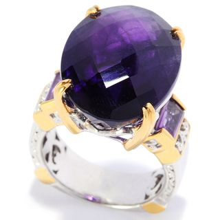 Michael Valitutti African Amethyst Ring