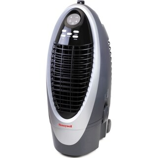 Honeywell Silver/ Grey CS10XE 21 Pt. Indoor Evaporative Air Cooler with Remote Control