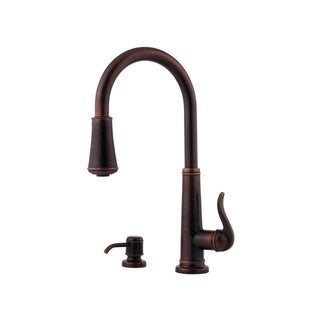 Pfister Ashfield Single-hole Kitchen Faucet GT529-YPU Rustic Bronze
