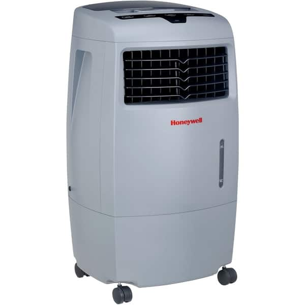 Honeywell Grey Co25ae 52 Pt Indoor Outdoor Evaporative Air Cooler With Remote Control Overstock 11511140