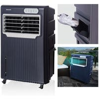 Honeywell Grey/ White CO70PE 148 Pt. Indoor/Outdoor Evaporative Air Cooler - Grey/White