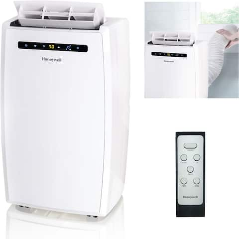 Honeywell White MN12CESWW 12,000 BTU Portable Air Conditioner with Remote Control