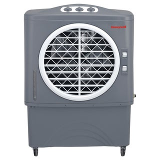Honeywell White/ Black CO48PM 100 Pt. Indoor/Outdoor Evaporative Air Cooler - White/Black