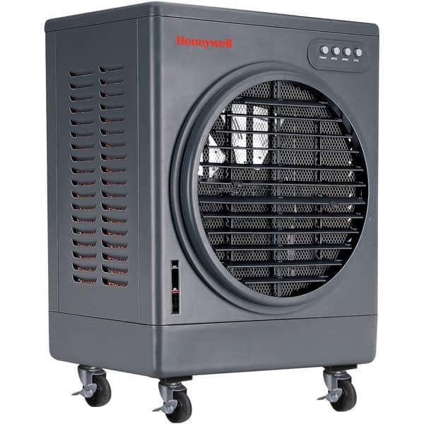 Honeywell Grey Co25mm 52 Pt Indoor Outdoor Commercial Evaporative Air Cooler Grey Overstock 11511255