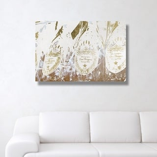 Oliver Gal 'Champagne Showers' Canvas Art