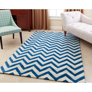ABBYSON LIVING Hand-tufted Quincy New Zealand Wool Rug (3' x 5')