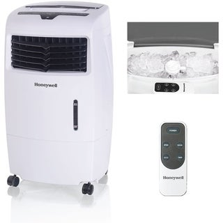 Honeywell White CL25AE 52 Pt. Indoor Evaporative Air Cooler with Remote Control