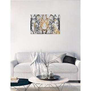 Oliver Gal 'Botanical Couture Noir' Canvas Art