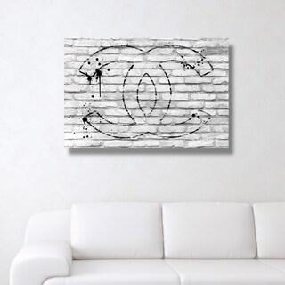 All Glory White' Canvas Art